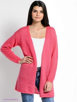 Кардиган New Look. Цвет: розовый