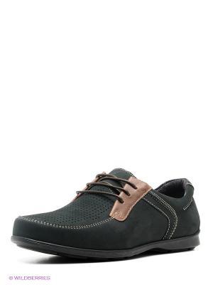 Туфли BELWEST. Цвет: темно-зеленый