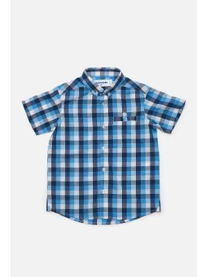 Рубашка Overmoon. Цвет: голубой