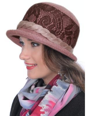Шляпа Сиринга. Цвет: коричневый, сиреневый