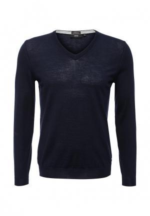 Пуловер Boss. Цвет: синий