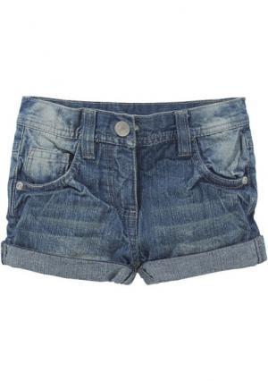 Джинсовые шорты KIDOKI. Цвет: синий потертый