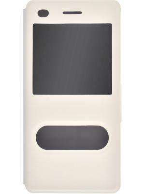 Чехол skinBOX Lux AW для Huawei P8 Lite. Цвет: белый