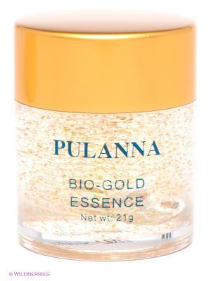 Био-золотой гель для век -Bio-gold Essence 21г PULANNA. Цвет: золотистый, прозрачный