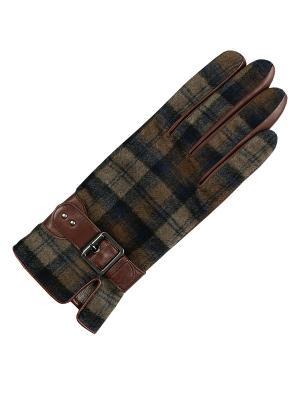 Перчатки ESMEE. Цвет: светло-коричневый