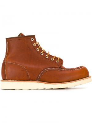 Ботинки Inch Mock Red Wing Shoes. Цвет: коричневый
