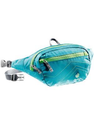 Сумка поясная Deuter Accessories Belt II. Цвет: голубой, зеленый