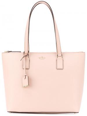 Сумка на плечо с логотипом Kate Spade. Цвет: розовый и фиолетовый