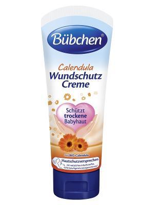 Специальный защитный крем Календула, 75 мл Bubchen. Цвет: белый