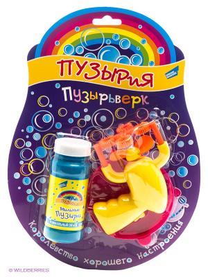 Набор для пускания мыльных пузырей Пузырьверк DREAM MAKERS. Цвет: желтый, оранжевый