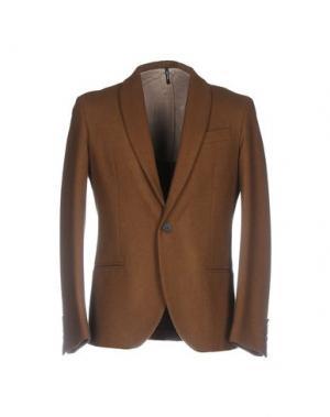 Пиджак 26.7 TWENTYSIXSEVEN. Цвет: коричневый