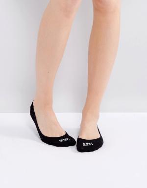 Vans Черные носки. Цвет: черный