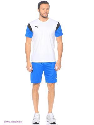 Шорты ftblTRG Shorts Puma. Цвет: голубой