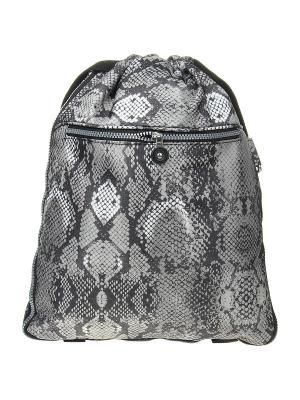Рюкзак Infiniti. Цвет: серый, коричневый, белый