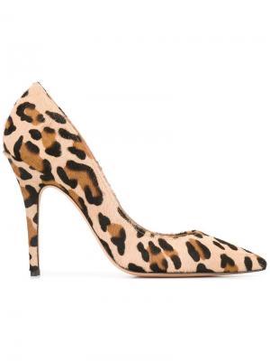 Туфли-лодочки Elle Jean-Michel Cazabat. Цвет: телесный