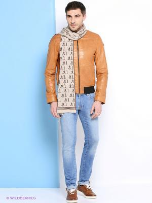 Куртка Trussardi. Цвет: рыжий