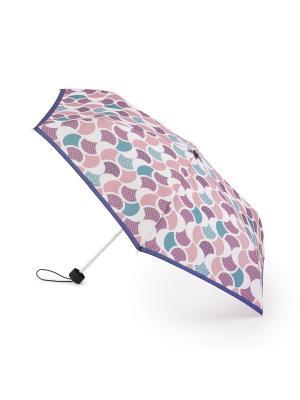 Зонт женский механика Henry Backer. Цвет: розовый