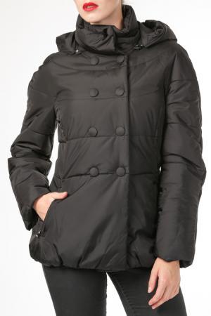 Куртка HDS. Цвет: черный