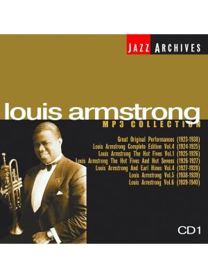 Louis Armstrong CD1 (компакт-диск MP3) RMG. Цвет: прозрачный