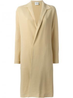 Пальто средней длины Sybilla. Цвет: телесный