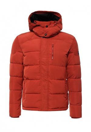 Куртка утепленная Wrangler. Цвет: оранжевый