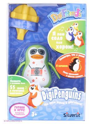 Пингвин с кольцом, зеленый, фотограф Silverlit. Цвет: зеленый