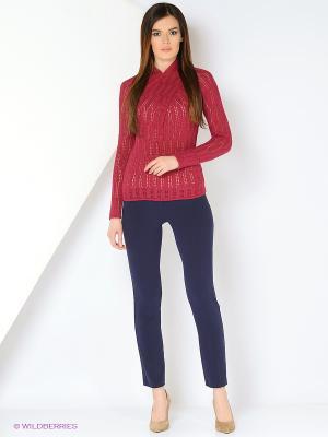 Свитер Milana Style. Цвет: бордовый