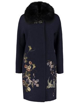 Пальто Atelier GX. Цвет: синий