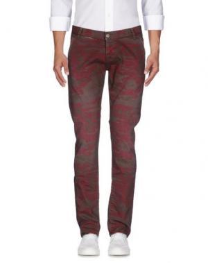Джинсовые брюки 2W2M. Цвет: какао