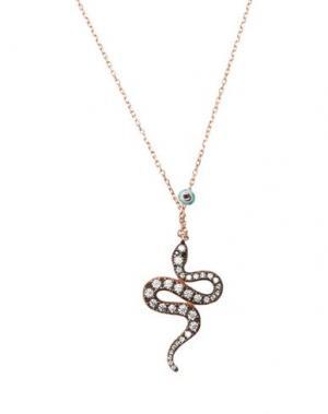 Ожерелье KURSHUNI. Цвет: медный
