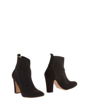 Полусапоги и высокие ботинки ANCARANI. Цвет: темно-коричневый