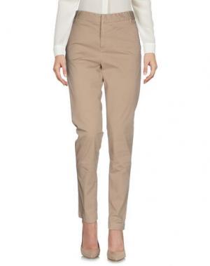Повседневные брюки RA-RE. Цвет: песочный