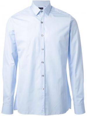 Классическая футболка Lanvin. Цвет: синий