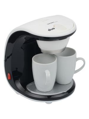 Кофеварка FIRST. Цвет: белый