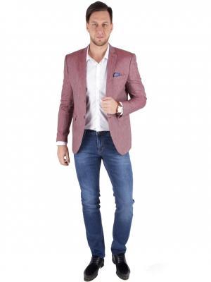 Пиджак WEAVER. Цвет: розовый