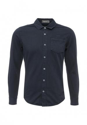 Рубашка MeZaGuz. Цвет: синий