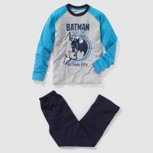 Пижама , 10 - 16 лет BATMAN. Цвет: серый/ темно-синий
