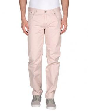 Джинсовые брюки SCERVINO STREET. Цвет: светло-розовый
