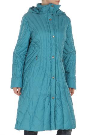 Пальто Loft. Цвет: бирюзовый