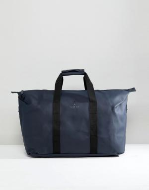 Rains Темно-синяя дорожная сумка 1286. Цвет: темно-синий