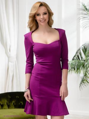 Платье Ksenia Knyazeva. Цвет: фиолетовый