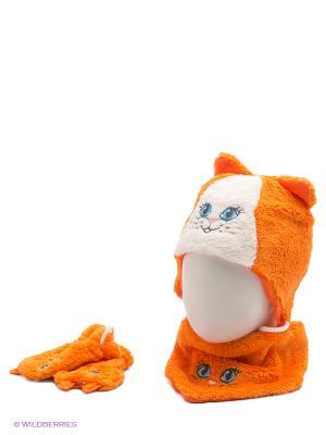 Комплект Апрель. Цвет: оранжевый