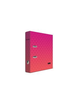 Регистратор ламинированный 8см Pierre Cardin Geometrie Pink. Цвет: розовый