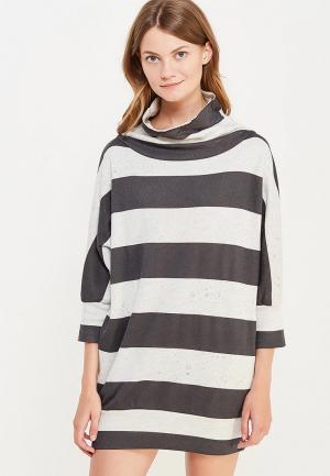 Платье Coquelicot. Цвет: серый