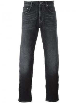 Эластичные джинсы прямого кроя Pt05. Цвет: серый