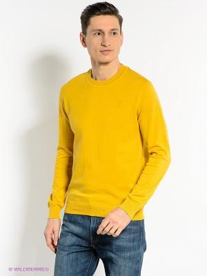 Джемпер CONVER. Цвет: желтый