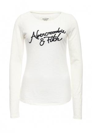 Лонгслив Abercrombie & Fitch. Цвет: белый