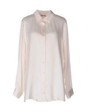 Pубашка REPEAT. Цвет: светло-розовый