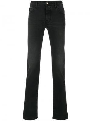 Прямые джинсы Jacob Cohen. Цвет: чёрный