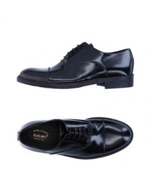 Обувь на шнурках BRUNO VERRI. Цвет: черный